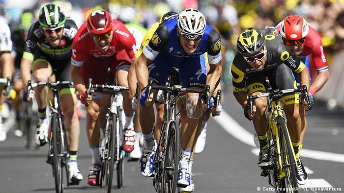Frankreich Tour de France 2016 Impressionen Etappe 1 - 12 Marcel Kittel (Getty Images/AFP/L. Bonaventure)