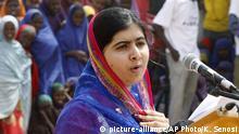 Malala Yousafza Nobelpreisträgerin in Kenia