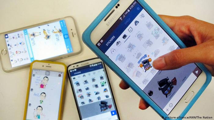 Handy Line App Sticker Emoticons