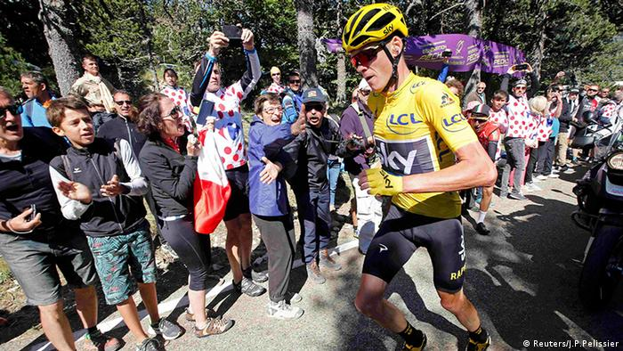 Tour de France Chris Froome (Reuters/J.P.Pelissier)