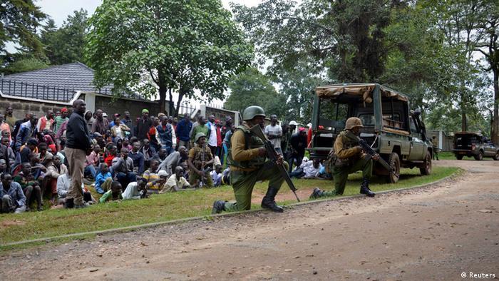 Kenia Kapenguria Polizei Anti al-Shabaab Aktion