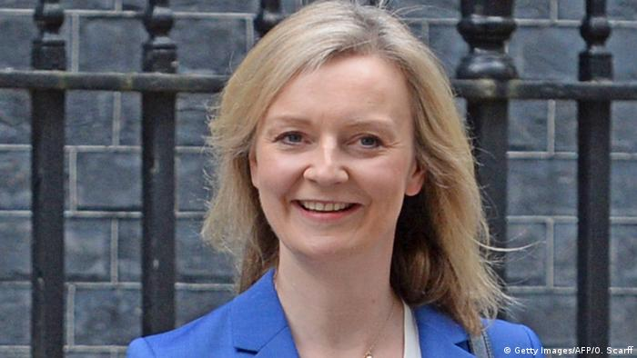Großbritannien Liz Truss in London