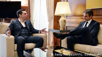 Griechenland Athen Alexis Tsipras Kyriakos Mitsotakis
