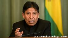 Bolivien David Choquehuanca