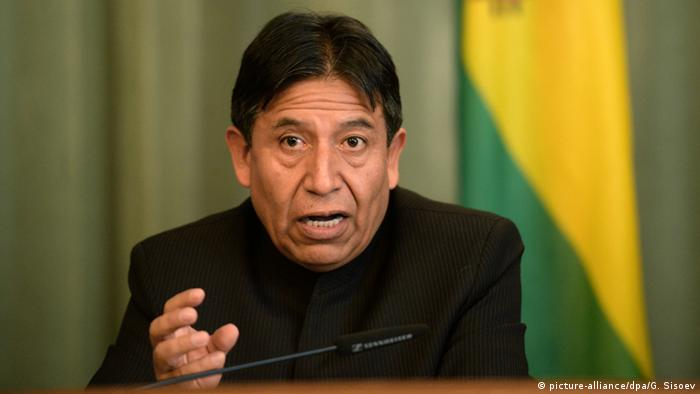 Bolivien David Choquehuanca (picture-alliance/dpa/G. Sisoev)