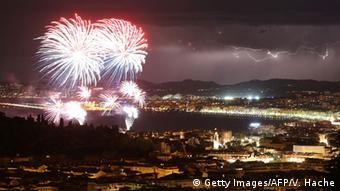 Φωτογραφία από τους εορτασμούς στη Νίκαια λίγο πριν την τρομοκρατική επίθεση