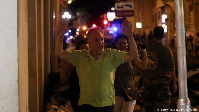 Frankreich Anschlag Lastwagen-Attacke in Nizza