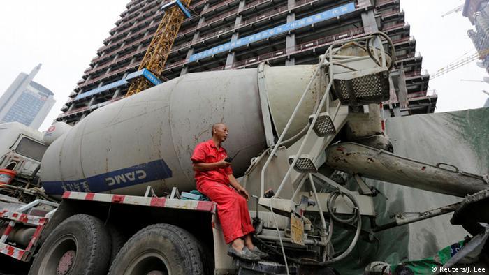 China Baustelle