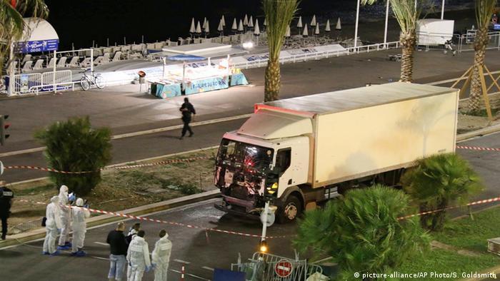 Frankreich Lastwagen-Anschlag in Nizza