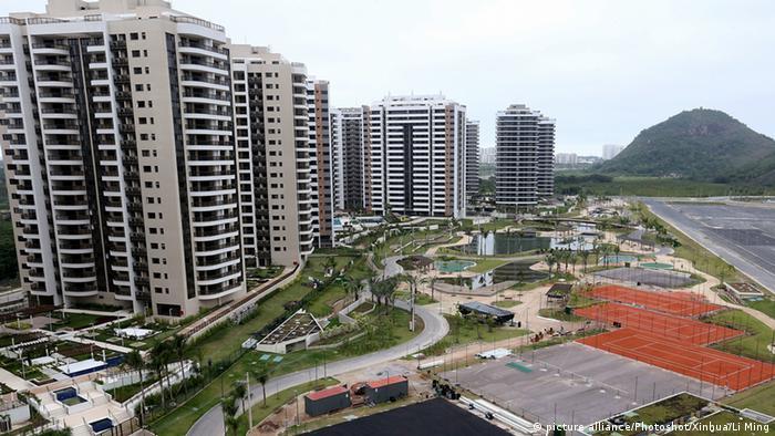 Brasilien Olympische Spiele Olympisches Dorf in Rio