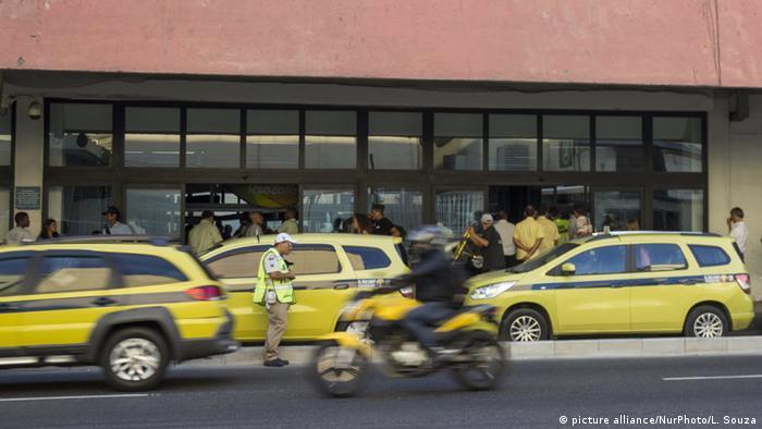Brasilien Olympische Spiele Taxis in Rio