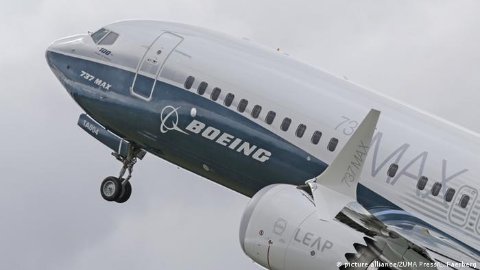 Модель Boeing 737 MAX