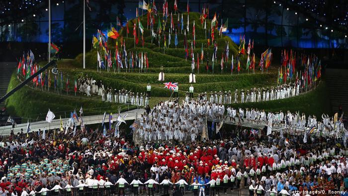 Großbritannien Olympische Spiele Eröffnungsfeier in London