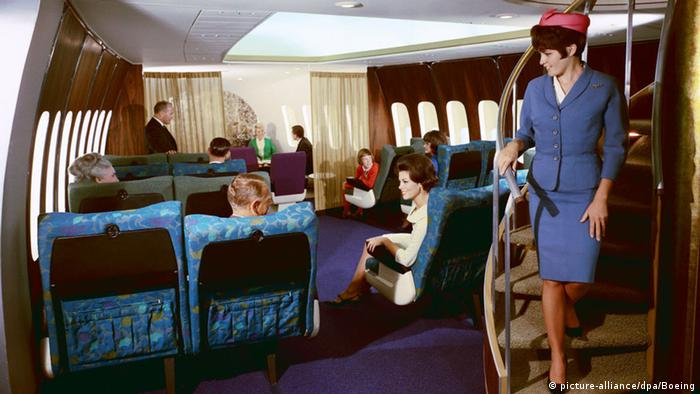 Inside one of the first Boeing 747s