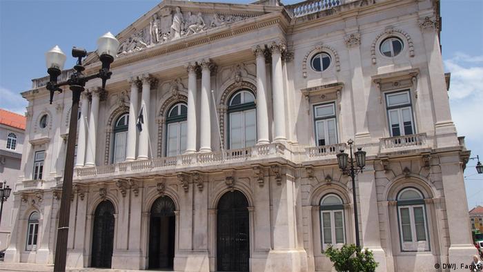 Portugal Rathaus in Lissabon