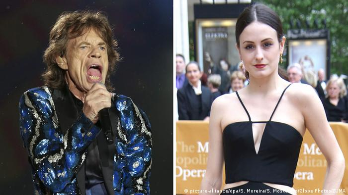 Mick Jagger und Melanie Hamrick