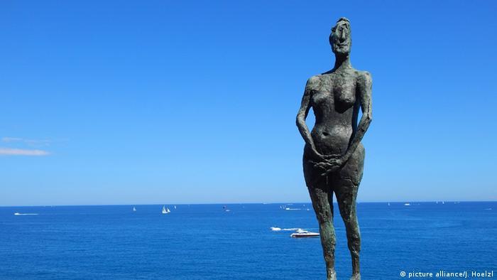 Pablo Picasso Skulptur im Museum in Antibes