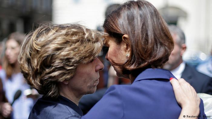 Boldrini embraces Colonna