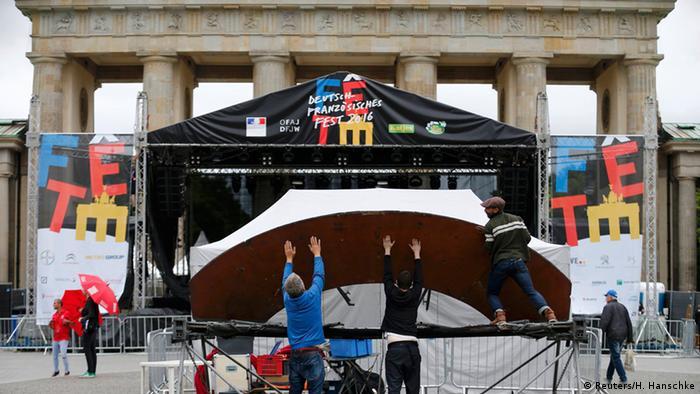 Deutschland deutsch-französisches Fest in Berlin wird abgesagt