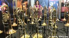 USA Sarah Willis beim International Trombone Festival in New York