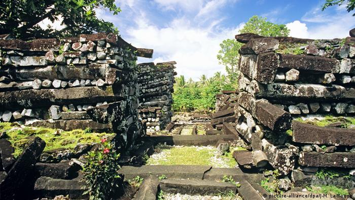 Nan Douwas Nan Madol Weltkulturerbe Kunst Kulturlandschaft Micronesia