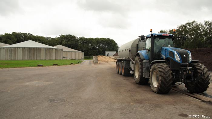 Biogasaproduktion in Belgien bei L'Oreal (Foto: DW/O. Ristau).