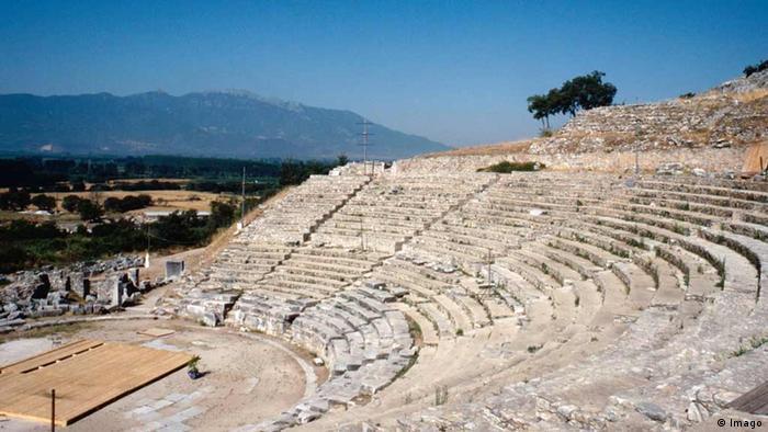 Griechenland Archäologische Stätte von Philippi