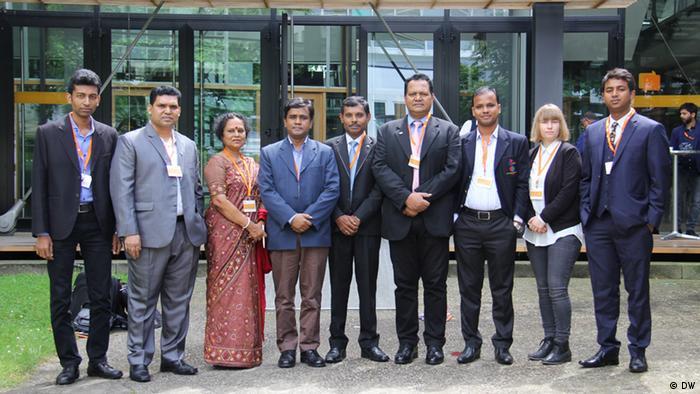 Global Media Forum Journalisten aus Bangladesch