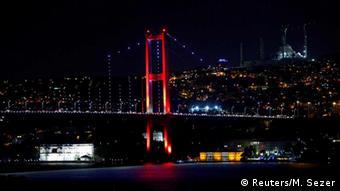 Türkei Bosporus-Brücken werden geschlossen