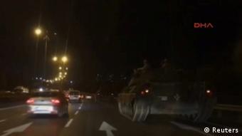 Türkei Putschversuch Armee Panzer