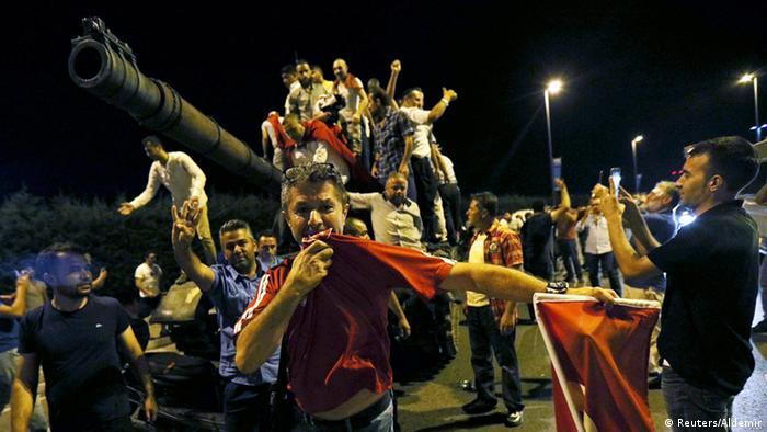 Türkei Putschversuch Protest