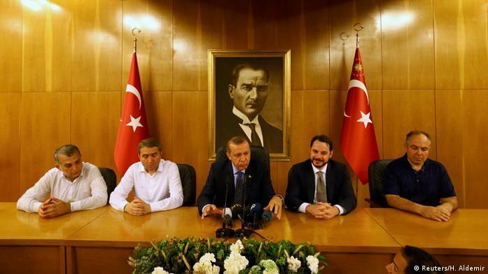 رجب طیب اردوغان در استانبول