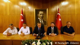 Türkischer Präsident Recep Tayyip Erdogan in Istanbul (foto: reuters)