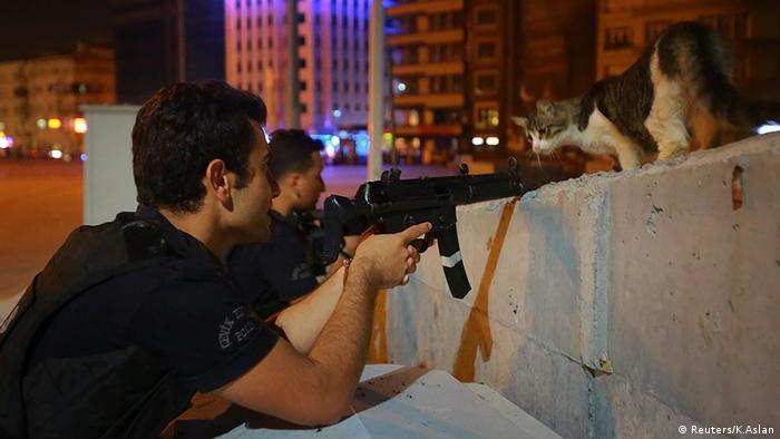 Türkei Putschversuch Präsident Erdogan in Ankara