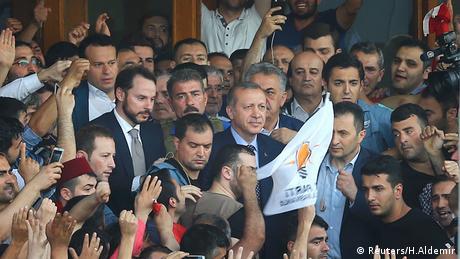 Tayyip Erdogan Türkei Atatürk Flughafen