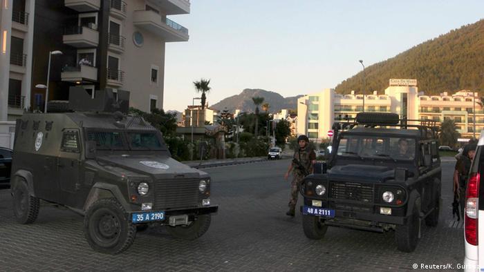 Türkei Marmaris Polizei