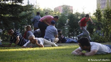 Türkei Schüsse in Ankara
