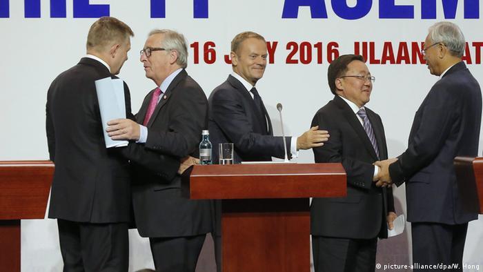 Jean-Claude Juncker EU Kommission ASEM Gipfel Ulan Bator