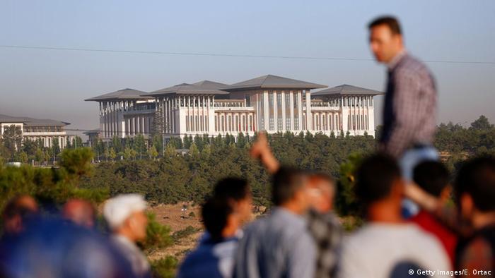 Türkei Ankara Präsidentenpalast Putschversuch
