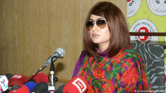 Qandeel Baloch Pakistan (picture-alliance/dpa/PPI)