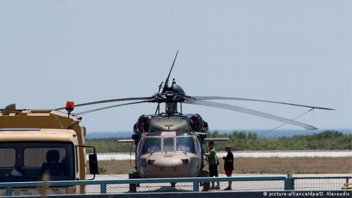 Griechenland Türkisches Helikopter landet in Alexandoupolis