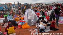 Südsudan Flüchtlinge an der Grenze Uganda-Südsudan