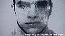 This image obtained by AFP on July 15, 2016 from a French police source shows a reproduction of the picture on the residence permit of Mohamed Lahouaiej-Bouhlel, the man who rammed his truck into a crowd celebrating Bastille Day in Nice on July 14. The attacker, Mohamed Lahouaiej-Bouhlel, a 31-year-old dual national, zigzagged through a crowd gathered to watch a Bastille Day fireworks display in the French city on Thursday night. / AFP / FRENCH POLICE SOURCE / - (Photo credit should read -/AFP/Getty Images) (c) Getty Images/AFP/French Police Source