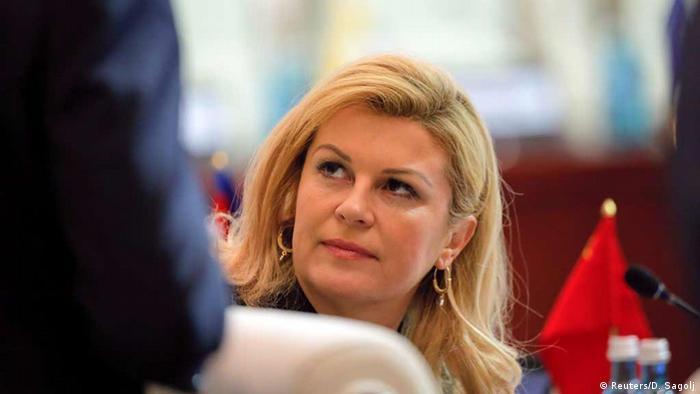 Kroatien Präsidentin Kolinda Grabar-Kitarovic