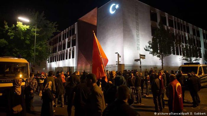 Deutschland Kundgebung gegen Putschversucht in Berlin