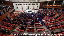 Türkei Außergewönliche Sitzung des türkischen Parlamentes