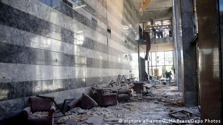 Türkei Putschversuch Parlament Schäden