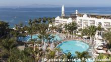 Lanzarote: Hotel Princesa Yaiza an der Playa Blanca, Kanarische Inseln | Verwendung weltweit copyright: picture-alliance/ DUMONT Bildarchiv