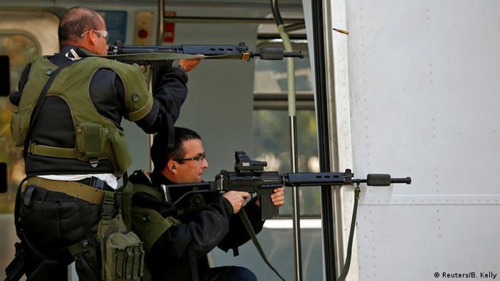 Treinamento antiterrorista no Rio de Janeiro