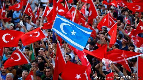 Türkei Ankara Demonstration gegen Gülen Bewegung Solidarität Erdogan
